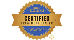 WAATME treatment center seal